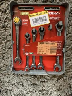 Metric Combo Ratcheting Wrench Set