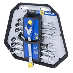 Kobalt 7-Piece Metric Ratchet Wrench Set Dual-Ratcheting Act