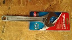 """New Crescent 10"""" Adjustable Wrench Chrome Plated Finish AC21"""