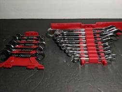 new 14 piece combination wrench set metric