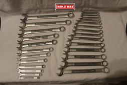 NEW Craftsman 26 pc Combination Wrench Set SAE & Metric 6 po