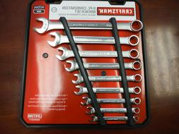 New Craftsman 47044 9 Piece Combination Wrench Set SAE Inch