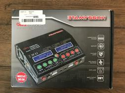 NEW Hobbymate HB120AC DUO Multi-Charger Built-in Power Suppl