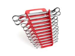 TEKTON 45-Degree Offset Box End Wrench Set with Store and Go