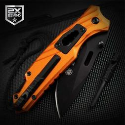 PARAMEDIC Multi Tool Whistle Flint Wrench EMS Spring Assiste