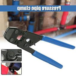 PEX One Hand Cinch Clamp Tool Ratchet Pinch Crimper Wrench 3