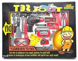 Little Treasures Tool Play Set Complete with Press drill wit