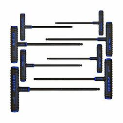 "8-Piece Power-T Ball-Hex Key Set, Pouch, 9"""" Arm, Sold as 8"