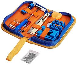 QwikFixxer Watch Repair Kit: 16 Universal Tools, Case Wrench