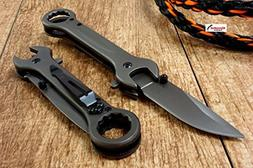 """NEW 7.5"""" Rainbow Wrench Tactical SPRING ASSISTED Open FOLDIN"""