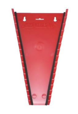 15 Piece Red Wrench Rack