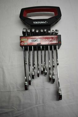 sae metric combination wrench set 18 piece