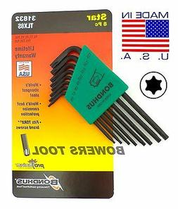 7 Piece Torx Wiha 36392 L-Wrench Set Short Arm