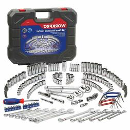 Socket Wrench Set Metric And Standard 3/8 1/4 Or 1/2 Inch Qu