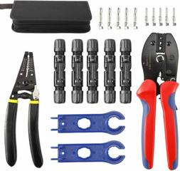 Solar Crimping Tools Kit Wire Stripper and Cutter with Cable