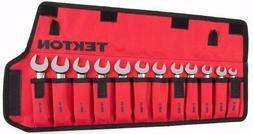 Tekton 12-pc. Stubby Combination Wrench Set - Pouch