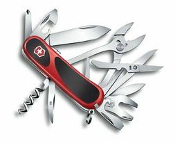 Victorinox Swiss Army EvoGrip S557 Multi-Tool Knife, Red, Bo