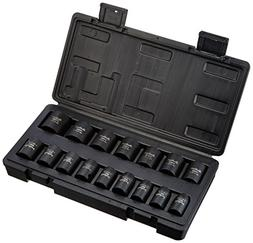 Blackhawk By Proto UW-616MS Drive Metric Impact Socket Set,