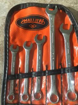 Vintage Set of Williams Metric Box & Open Wrench's 6mm To