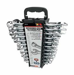 Performance Tool W1069 22-Piece SAE/Metric Polished Combo Wr
