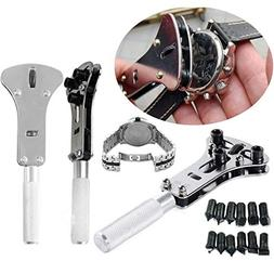 Wrench - Adjustable Screw Watch Back Case Cover Opener Repai